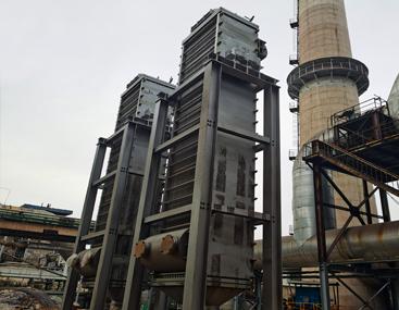 炼铁厂贫富液宽流道全焊接板式换热器
